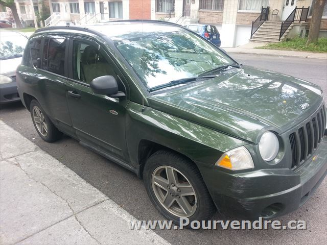 vendre montr al jeep pas cher compass 2008 annonce. Black Bedroom Furniture Sets. Home Design Ideas
